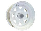 Off-road weels 15x8 5x139.7 d110 ET-25 белый